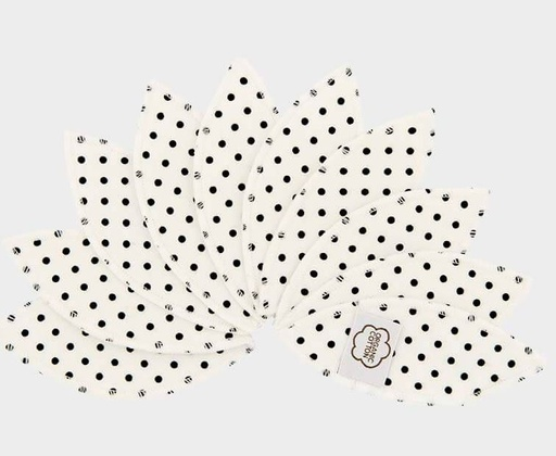 [NB0002641] Labiapads Black Dots 10Pack